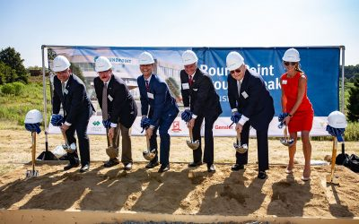 PHOTOS: RoundPoint Mortgage breaks ground on $34M HQ project in Fort Mill